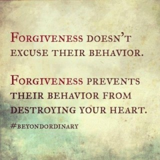 Why forgiveness is so important