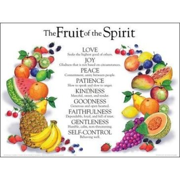 Fruit of the Spirit- Peace