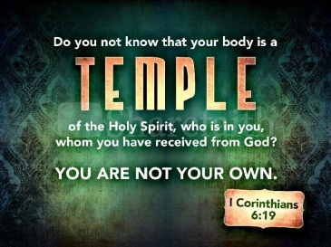 Temples of the Holy Spirit